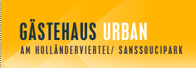 Logo Gästehaus Urban, Pension Potsdam